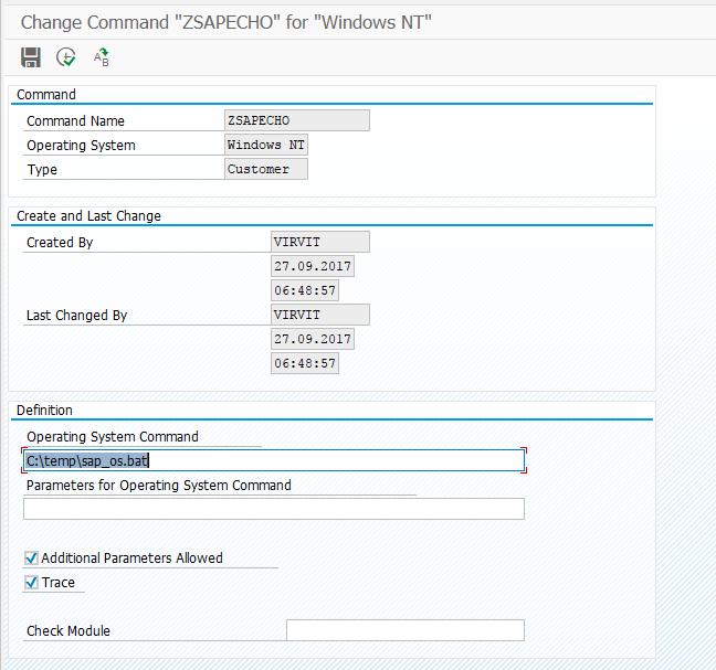 SAP SM69 transaction