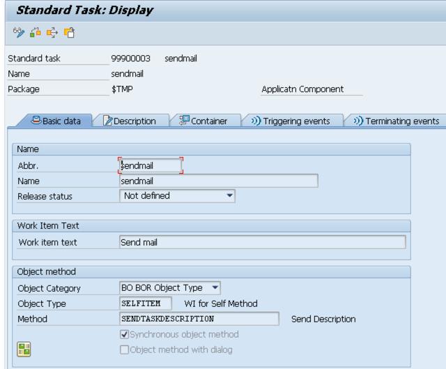 Workflow Standard Task