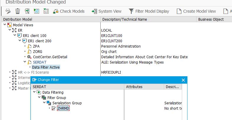 Модель распредления SAP ALE